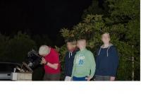 soirée observation au téléscope